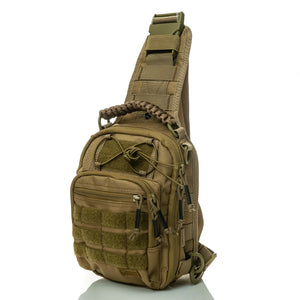 SPARTAN TACTICAL DXA SLING BAG KHAKI-COYOTE