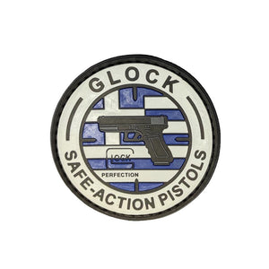 Glock Greek Flag - PVC Patch