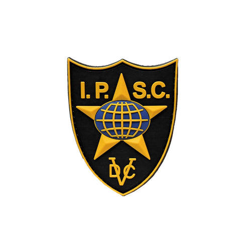 IPSC PVC PATCH YELLOW BLACK