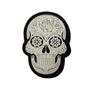 Mexican Skull PVC Patch