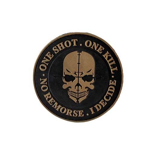 One Shot-One Kill  PVC Patch
