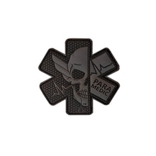 Load image into Gallery viewer, PARA-MEDIC SKULL PVC PATCH