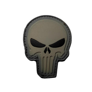 Punisher Head - PVC Patch