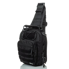 Load image into Gallery viewer, SPARTAN TACTICAL DXA SLING BAG BLACK