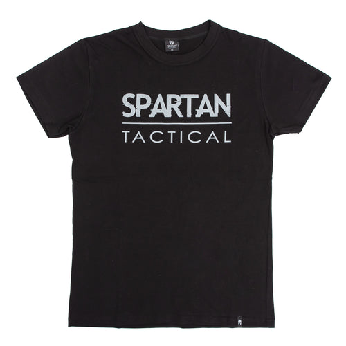 Spartan Tactical Big Logo T-Shirt (Black)