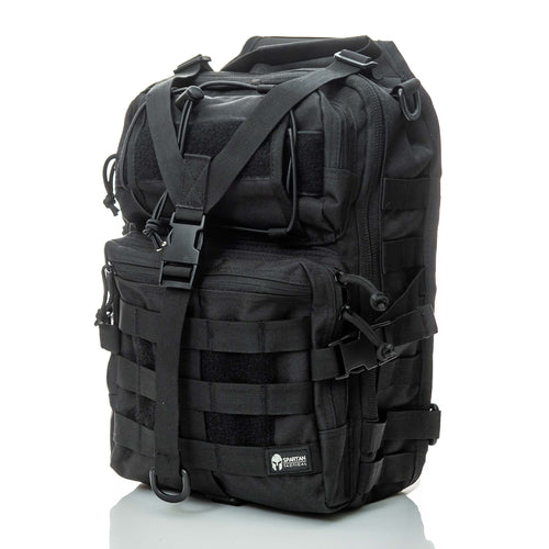 spartan tactical sc-1 sling bag-shoulder bag black