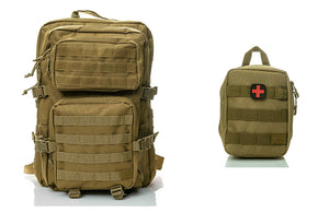 Spartan Tactical First Aid Pack Hippeas and medical pouch