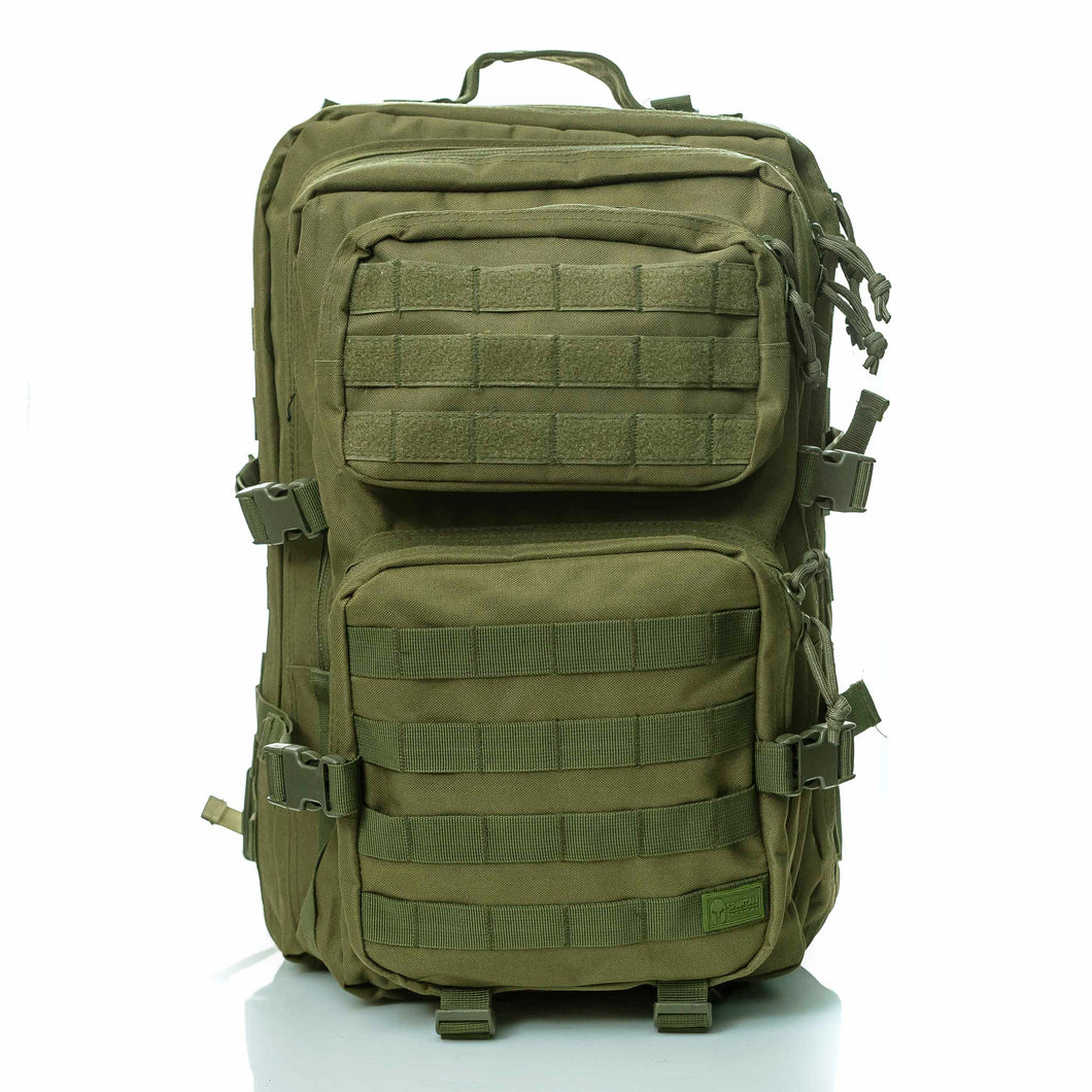 Hippeas Backpack (Military Green)