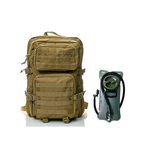 Hydration pack - Spartan Tactical Hippeas Backpack and Water Bladder 2,5 Liters  Coyote