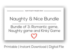 Naughty & Nice Bundle (Printable)