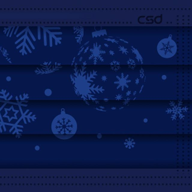 CSD Limited - Starry Snowflake - 30/Box - Taiwan Masks