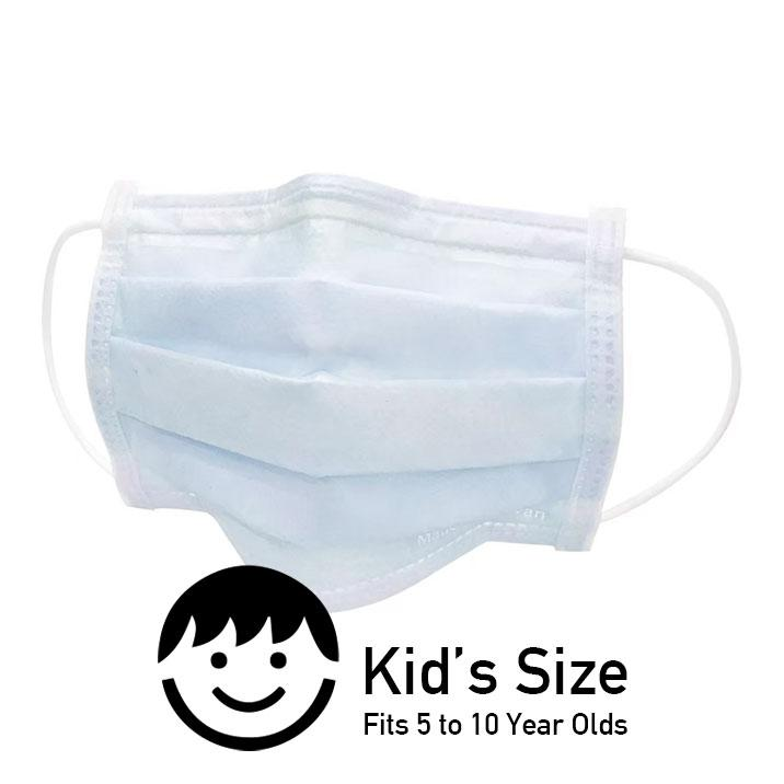 Face Mask Bundle - Kids (Blue) - 40 Boxes - Taiwan Masks