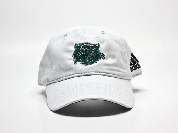 Northwest Bearcats Adidas Unstructured Embroidered Hat White