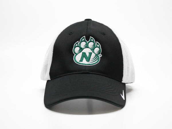 Northwest Bearcats Nike Golf Fitted 2-Tone Mesh Hat Front