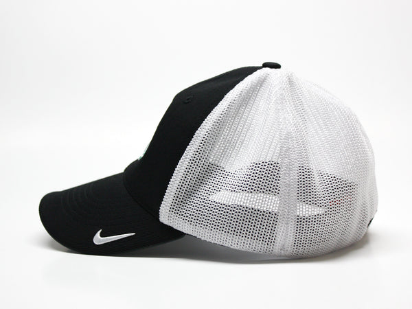 Northwest Bearcats Nike Golf Fitted 2-Tone Mesh Hat Side View