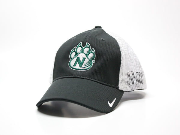 Northwest Bearcats Nike Golf Fitted 2-Tone Mesh Hat Gray