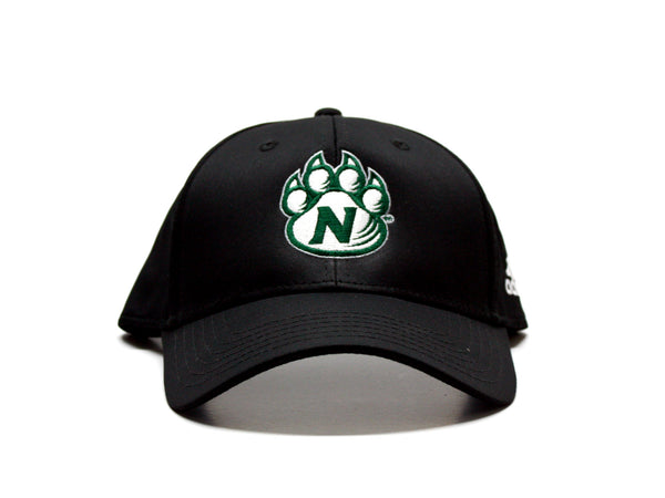 Northwest Bearcats Adidas Structured Hat - front view
