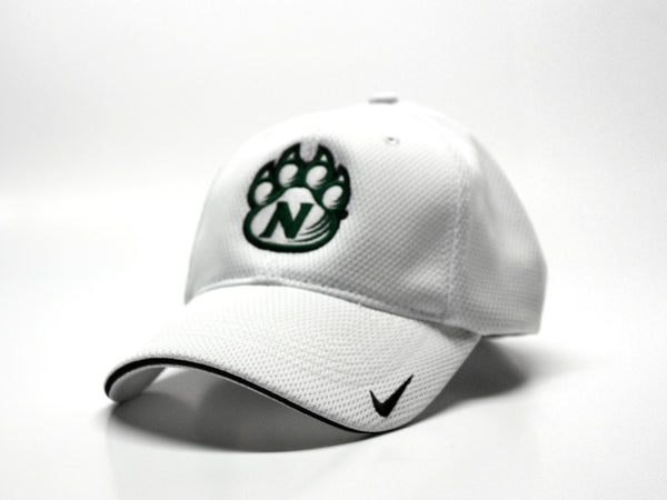 Northwest Bearcats Nike Performance Solid Color Mesh Fitted Hat - 3/4 View