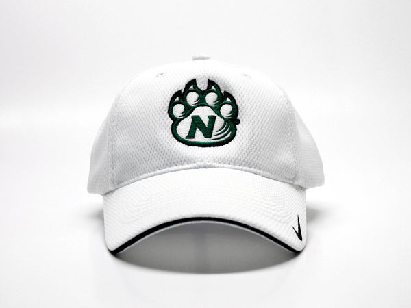 Northwest Bearcats Nike Performance Solid Color Mesh Fitted Hat - Front View
