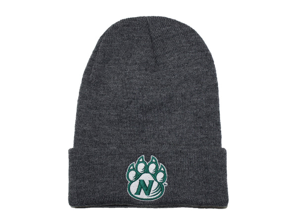 Gray Northwest Bearcats Classic Knit Stocking Cap