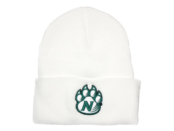 White Northwest Bearcats Classic Knit Stocking Cap