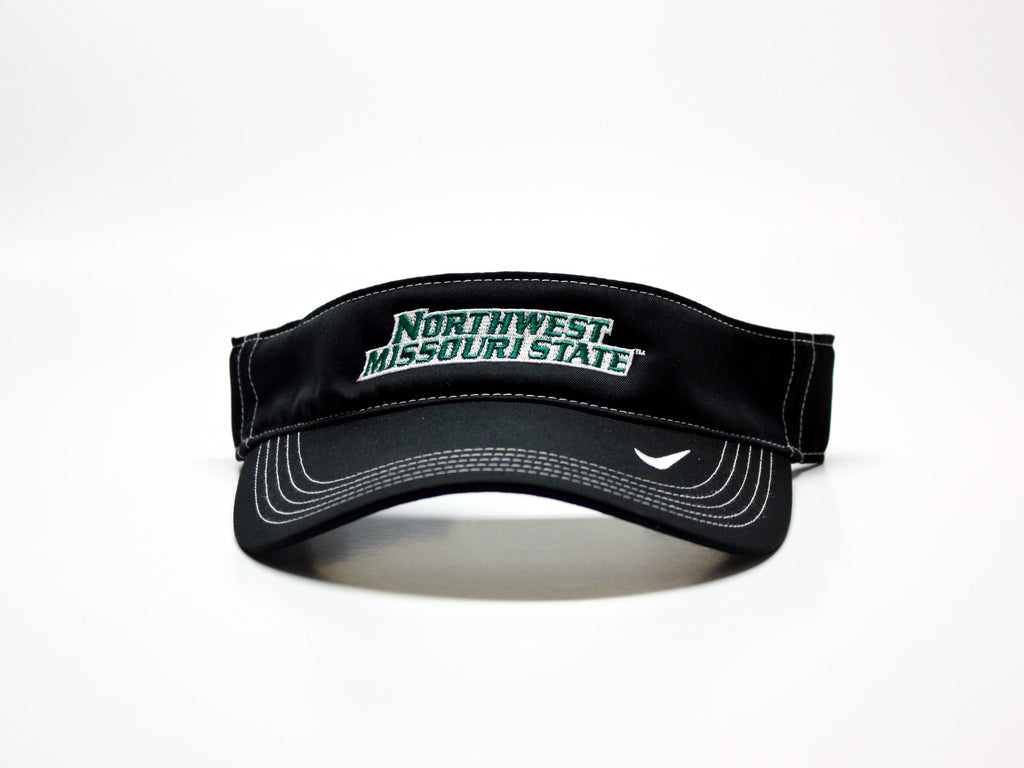 Northwest Bearcats Nike Adjustable Visor Black