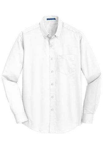 Trailerman Port Authority SuperPro Twill Button Up Shirt