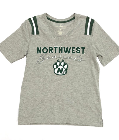 Northwest Bearcats Colosseum Women's V-Neck T