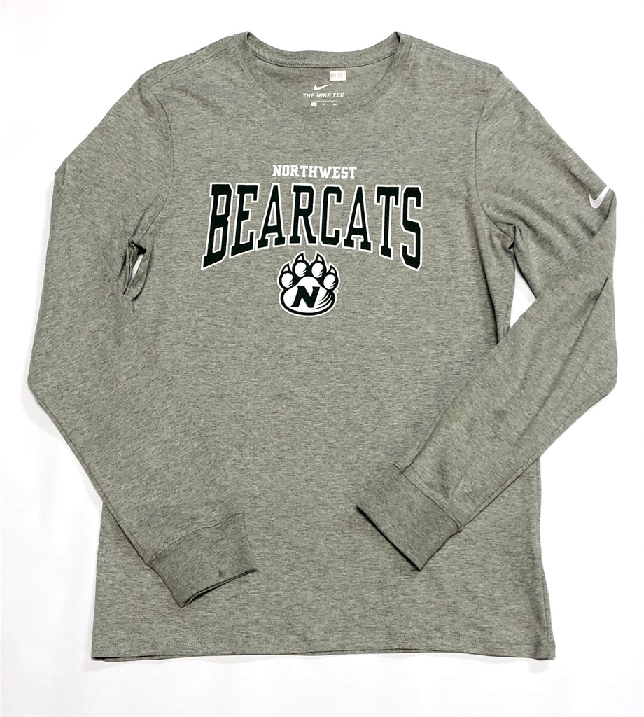 Northwest Bearcats Long Sleeve Nike Tee