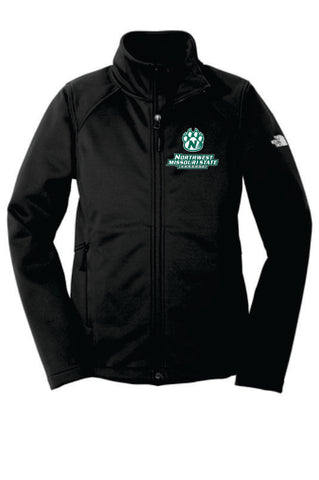 Northwest Bearcats The North Face Ridgwall Ladies Soft Shell Jacket