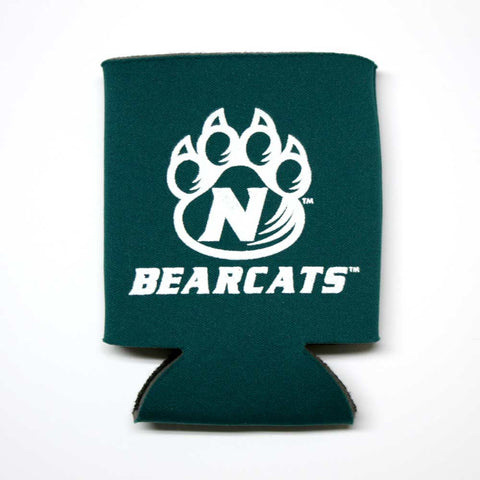 Green Northwest Bearacts Paw Logo Koozie