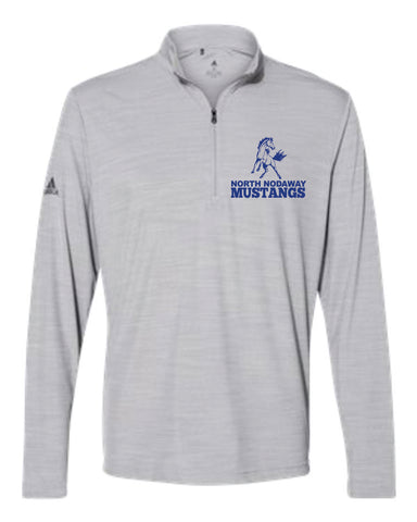 North Nodaway Mustangs Adidas 1/4 Zip A475