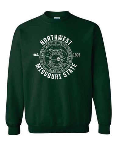 Northwest Bearcats University Seal Fleece Apparel