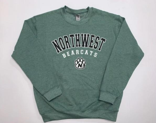 Northwest Bearcats Crewneck Sweatshirt - Unisex