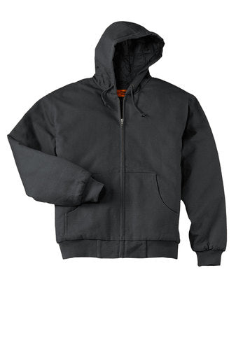 H&H Trailers CornerStone Duck Cloth Hooded Work Jacket