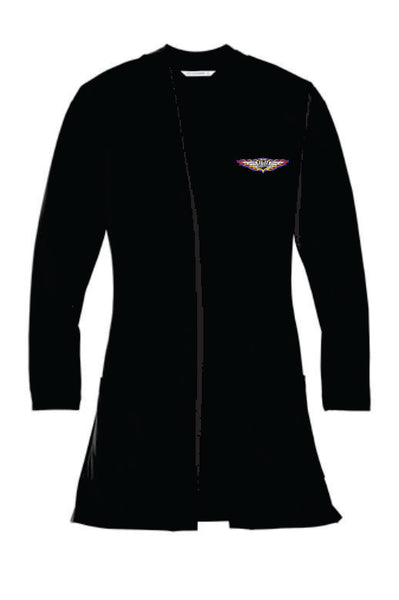 H&H Trailers Port Authority Ladies Concept Long Pocket Cardigan