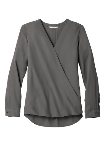 H&H Port Authority Ladies Wrap Blouse