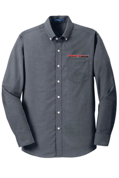 Trailerman Port Authority SuperPro Oxford Button Up Shirt