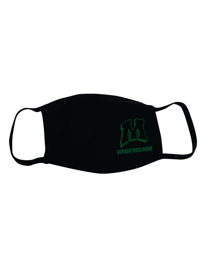 MHS Booster Club 2-ply cotton mask