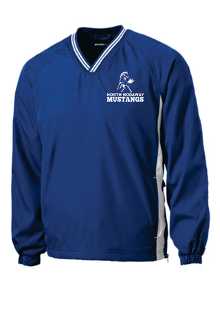 North Nodaway Mustangs V-Neck Pullover jst62