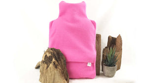 ORGANIC FLEECE HOT WATER BOTTLE COVER 2L