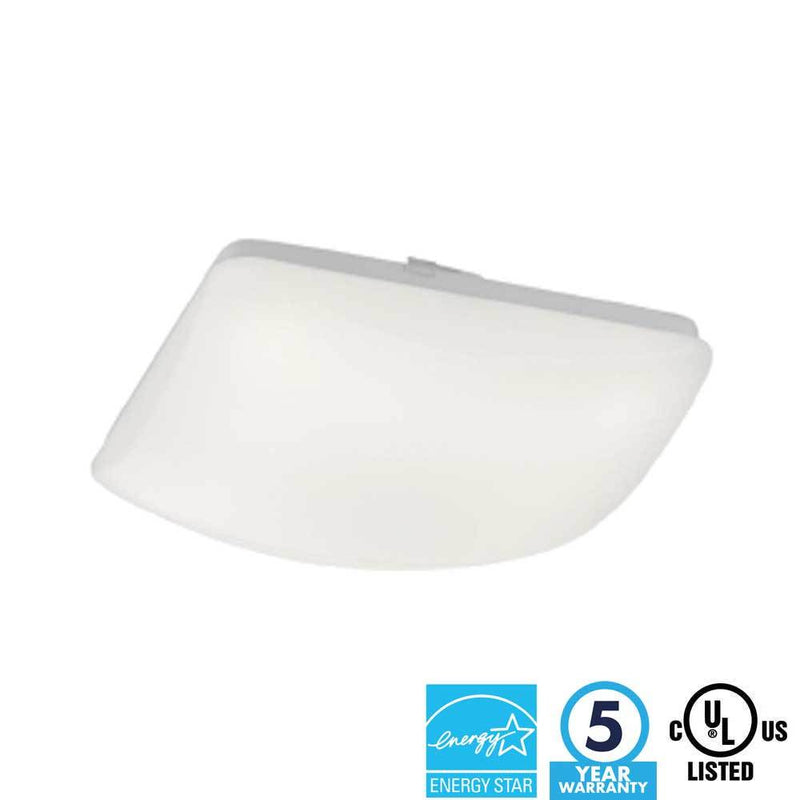 "14"" 14W LED Square Ceiling Light 4000K - ION LIGHTING DISTRIBUTION"