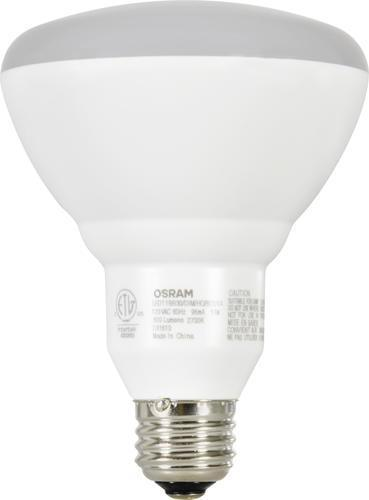 (2 PACK) SYLVANIA LED BR30 9W - 65W equivalent - ION LIGHTING DISTRIBUTION