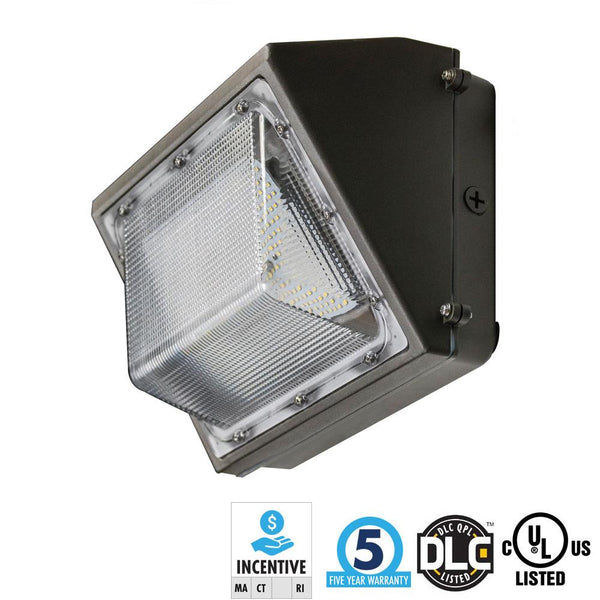 30W LED Wall Pack 4000K TEMPERED GLASS LENS - ION LIGHTING DISTRIBUTION