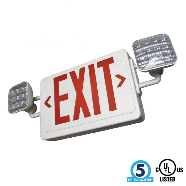 LED Exit & Emergency Combo - ION LIGHTING DISTRIBUTION