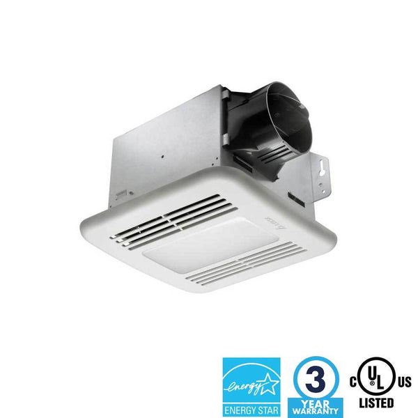 Delta BreezIntegrity - 80 CFM Fan/Dimmable LED Light - ION LIGHTING DISTRIBUTION