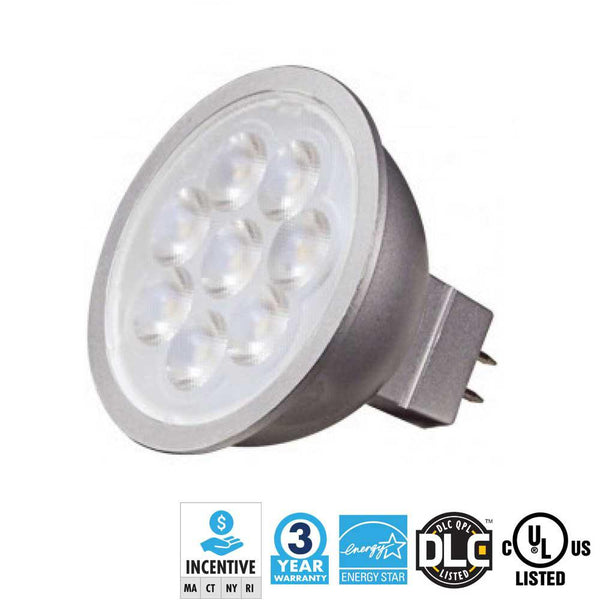 MR 16 LED 6.5 Watt Bulb 4000K - ION LIGHTING DISTRIBUTION