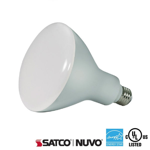 Satco 16.5W BR40 Bulb 3000K - ION LIGHTING DISTRIBUTION