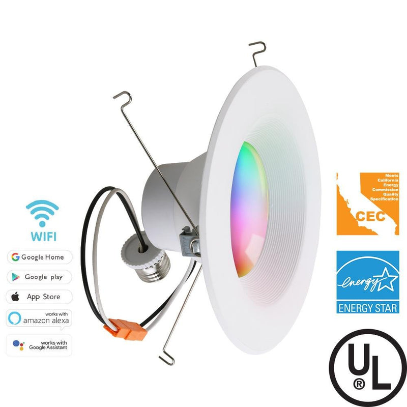 SMART DOWNLIGHT LED RGB+White 13W | 75W Replacement | Alexa and Google Home - ION LIGHTING DISTRIBUTION
