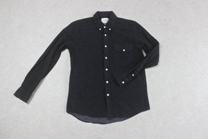 Saturdays NYC - Shirt - Black/White Polka Dot - Medium